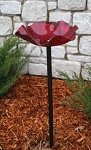 Bird Bath ~ Pole-mounted ~ 3 Colors Available