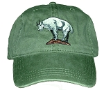 Mountain Goat Embroidered Cap