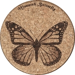 Monarch Butterfly Coaster