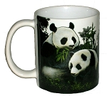 Panda 11 oz Ceramic Coffee Mug