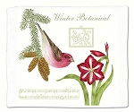 Purple Finch Potholders or Flour Sack Towels ~ Click for Choices