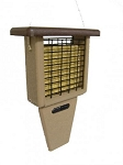 Recycled Suet Bird Feeder With Tail Prop ~ 2 Colors Available