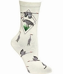 Sandhill Crane Socks - Two Designs