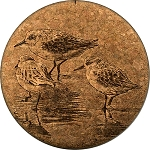 Sandpipers Coaster