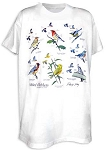 Sibley's Warblers T-shirt