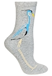 Great Blue Heron Socks