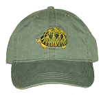 Radiated Tortoise Embroidered Cap