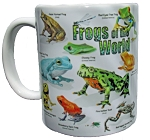 Frogs of the World 11 OZ. Ceramic Coffee Mug