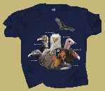 Vultures T-shirt - Two Sided