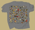 Ultimate Songbird Guide T-shirt