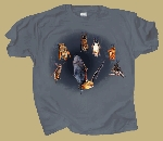 Bats Just Hanging Around T-shirt