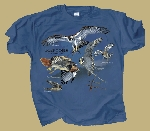 Raptors, Birds of Prey T shirt