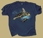 Loggerhead Sea Turtle T shirt