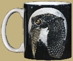 Hunter's Moon (Owl) 11 OZ. Ceramic Coffee Mug