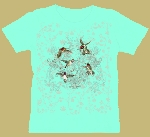 Hummingbird Lace Woman's T shirt