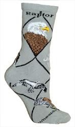 Raptor Socks with Eagles, Hawks, Falcons, and Vultures