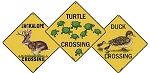 Aquatic Animal Crossing Signs