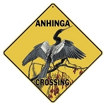 Anhinga Crossing Sign