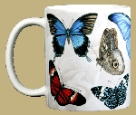 Exotic Butterflies 11 OZ. Ceramic Coffee Mug