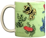Poison Dart Frog 11 OZ. Ceramic Coffee Mug