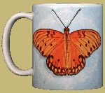 Passion Butterfly 11 OZ. Ceramic Coffee Mug