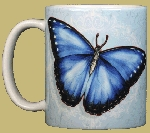 Morpho Butterfly 11 OZ. Ceramic Coffee Mug