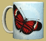 Postman Butterfly 11 OZ. Ceramic Coffee Mug