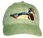 Wood Duck Embroidered Cap