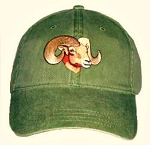 Bighorn Sheep Embroidered Cap