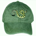Black-tailed Rattlesnake Embroidered Cap