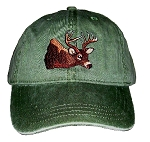 Deer Embroidered Cap