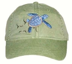 Loggerhead Sea Turtle Embroidered Cap