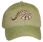 Timber Rattlesnake Embroidered Cap