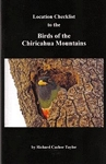Location Checklist to the Birds of the Chiricahua Mountains