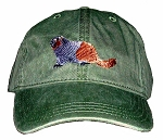 Hoary Marmot Embroidered Cap