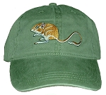 Kangaroo Rat Embroidered Cap