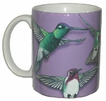Hummingbirds of North America 11 OZ. Ceramic Coffee Mug
