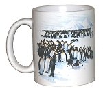 King Penguins 11 OZ. Ceramic Coffee Mug