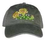 Prickly Pear Cactus Embroidered  Cap