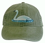 Trumpeter Swan  Embroidered Cap