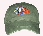 American Kestrel Embroidered Cap
