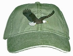 Bald Eagle Embroidered Cap