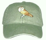 Barn Owl Embroidered Cap