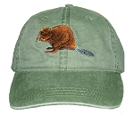 Beaver Embroidered Cap