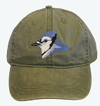 Blue Jay Embroidered Cap