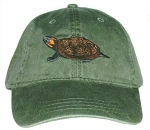 Bog Turtle Embroidered Cap