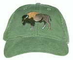 Bison (Buffalo) Embroidered Cap