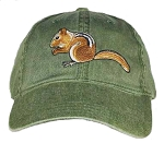 Chipmunk Embroidered Cap