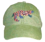 Gila Monster Embroidered Cap