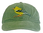 American Goldfinch  Embroidered  Cap